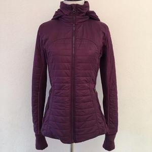 Lululemon Purple Down Full Zip Hoodie Jacket 6